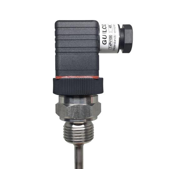 Sonde avec GDM, convertisseur 4..20 mA et contact à ouverture.