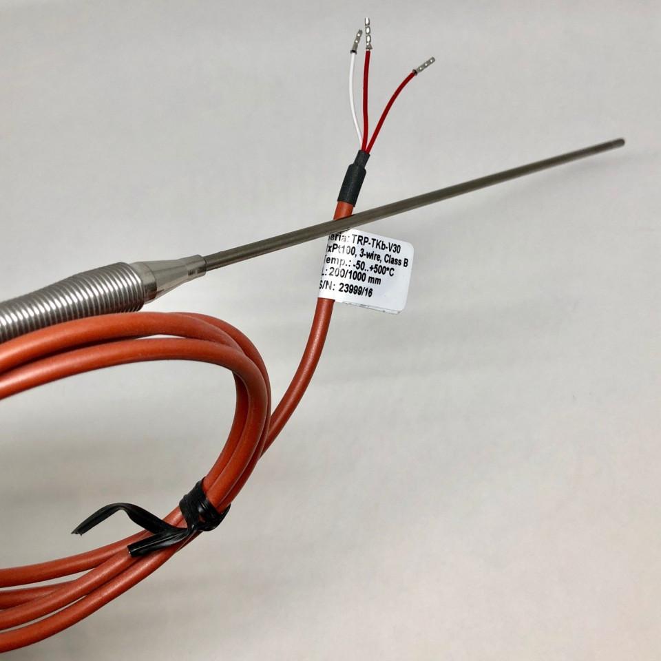 Sonde chemisé Pt100 3C 1000mm