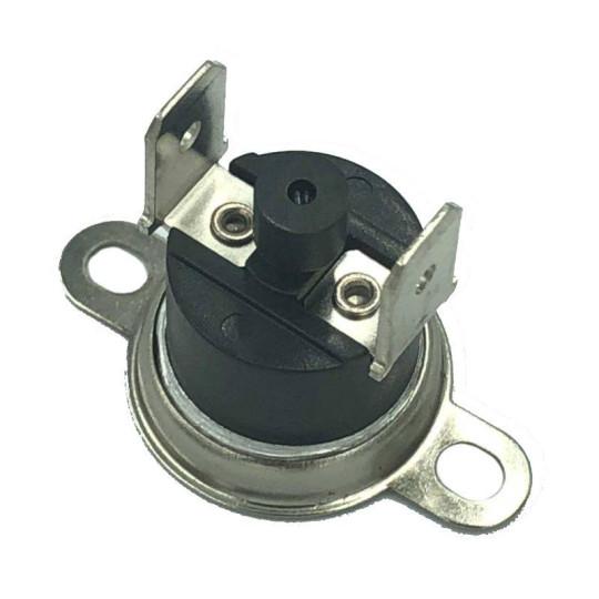 Thermostat à réarmement manuel avec cosse verticale