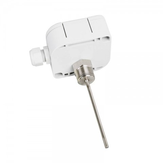Fast response temperature probe - plastic connection head