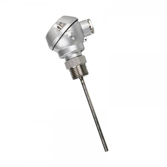 Sonde de température à réponse rapide - Tête de connexion métallique