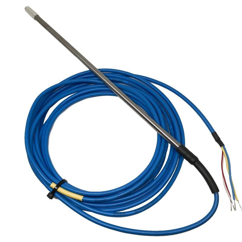 Pt100 probe 1/10 DIN 5000mm