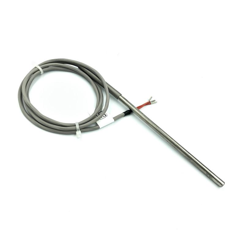 Sonde Pt100 3 conducteurs longueur 1000mm tube diamètre 6mm