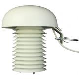 Enregistreur de données de température à deux canaux pour une sonde externe Pt1000 avec capteur de température interne