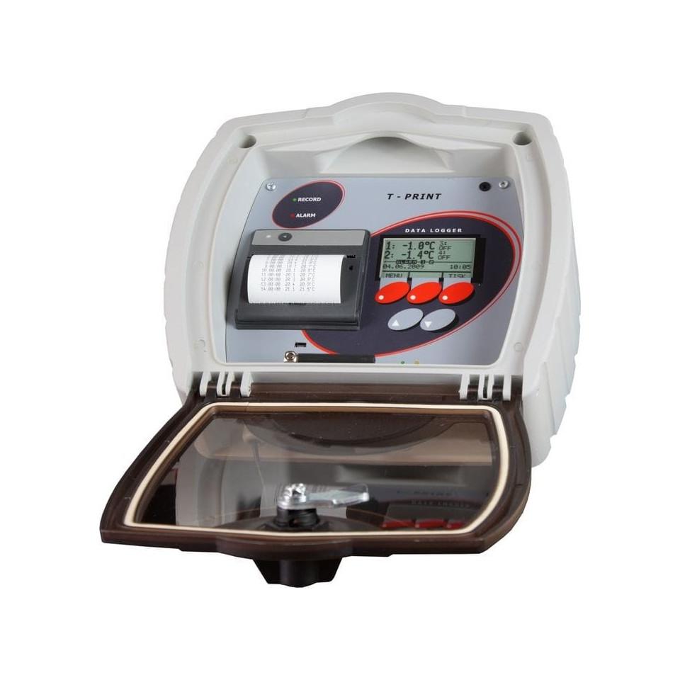 Enregistreur de température pour semi-remorque avec modem GSM intégré et sortie sans fil