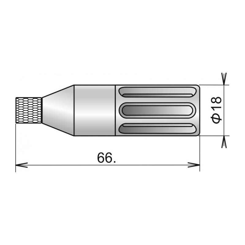 Sonde de température / d'humidité numérique DIGIL / E, connecteur ELKA
