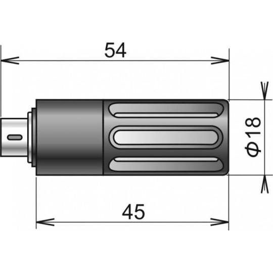 Sonde de température / humidité numérique DIGIL / M, connecteur MiniDin