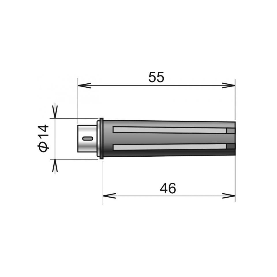 Sonde de température / humidité numérique DIGIS / M, connecteur MiniDin