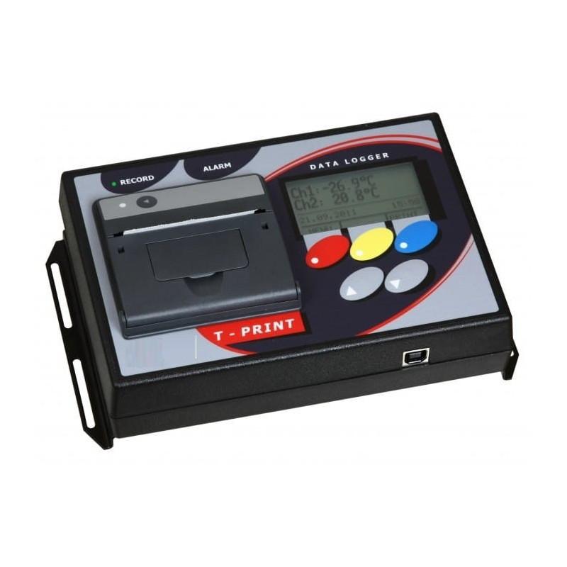Enregistreur de température avec imprimante