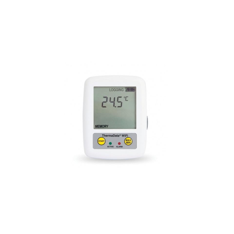 Thermomètre enregistreur WiFi sans fil avec capteur interne