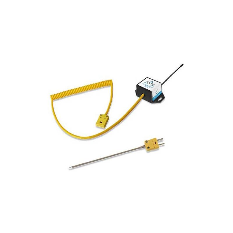 Sonde connecteur thermocouple sans fil ALTA - Alimenté par pile bouton
