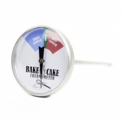 Stainless steel cake and pastry thermometer Dial 45 mm 2