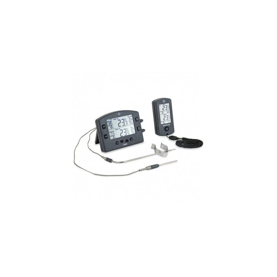 Thermomètre et récepteur de barbecue sans fil de fumée 1