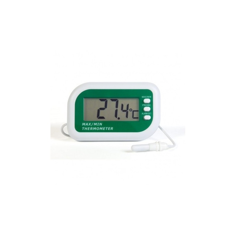 Max min digital alarm thermometer with internal and external sensors 1