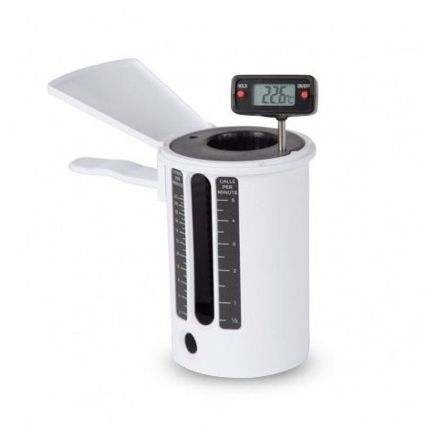 Digital thermometer with Flow Cup 3