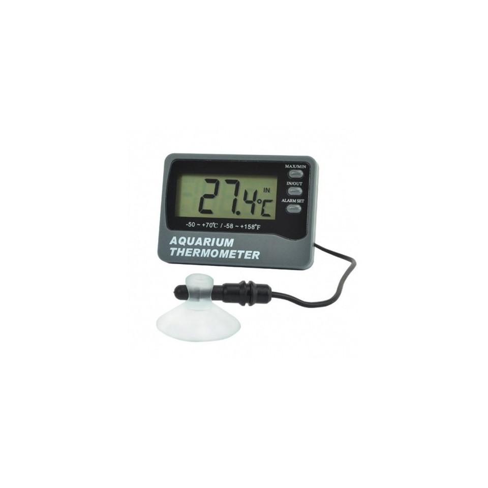 Aquarium thermometer with ambient sensor. 1