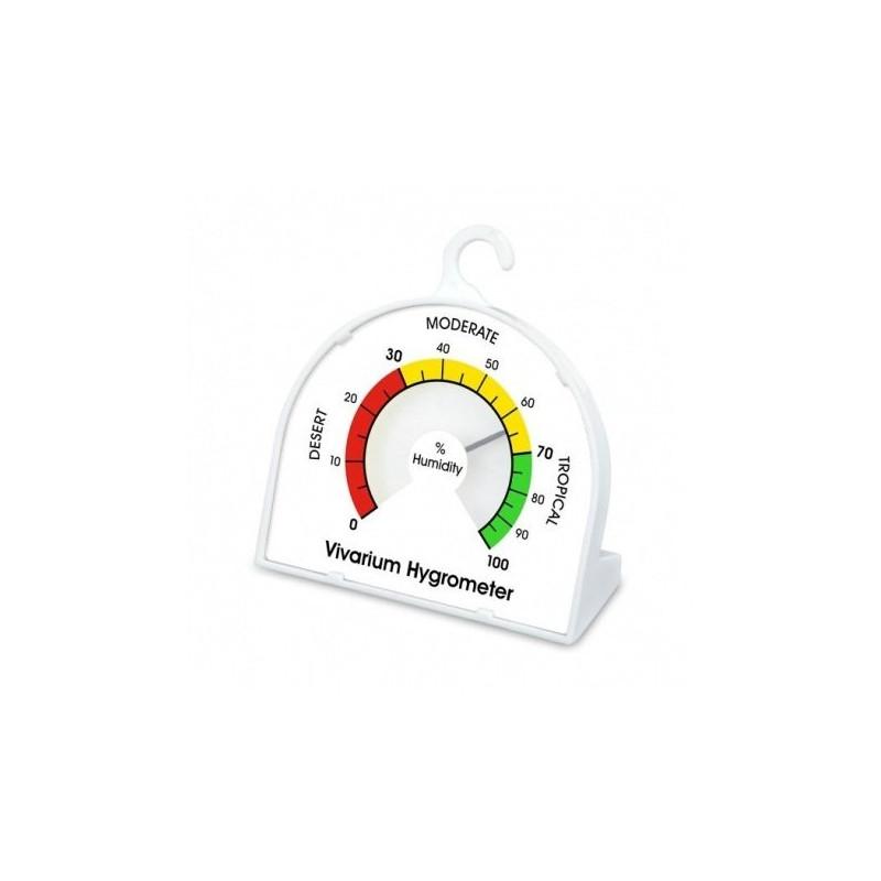 Vivarium hygrometer with 70 mm dial