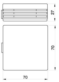 Sonde d'ambiance Pt100 avec convertisseur
