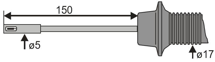 Sonde portative pour la mesure de l'air ambiant