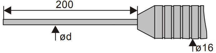 Sonde robuste pour mesure de liquide et de gaz