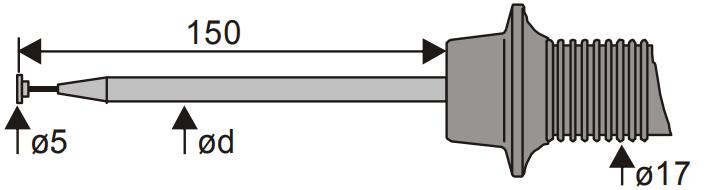Sonde pour la mesure de surface
