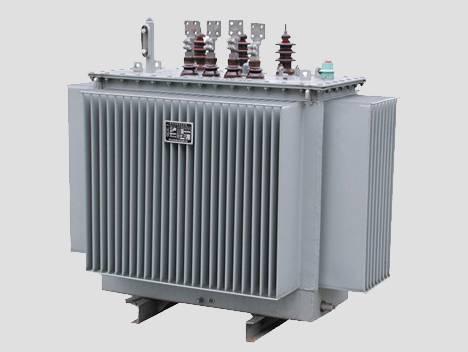 Oil bath transformer