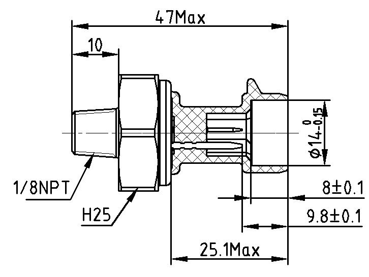 Engine oil pressure sensor diagram