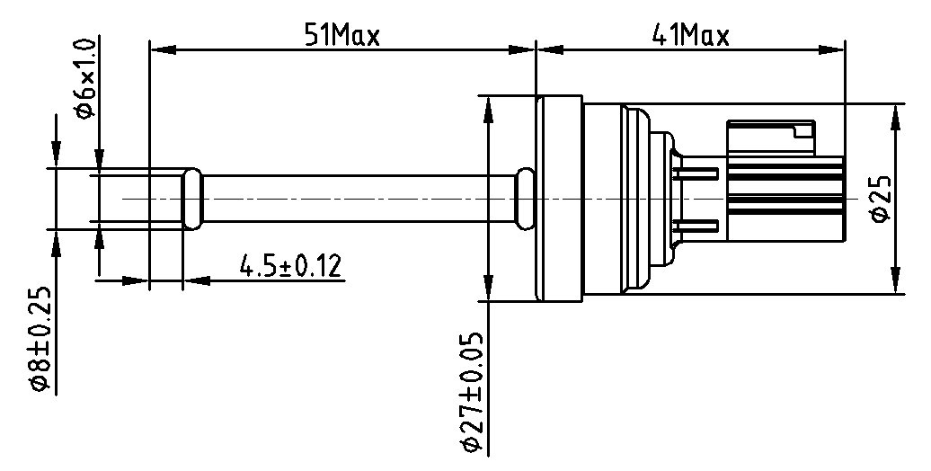 Pressure sensor for commercial air conditioning