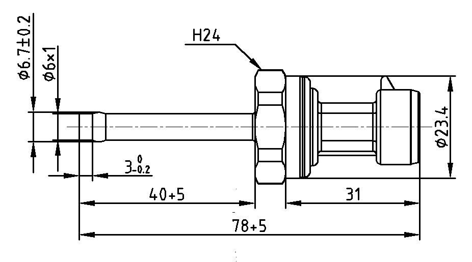 Schéma capteur de pression pour compresseur d'air