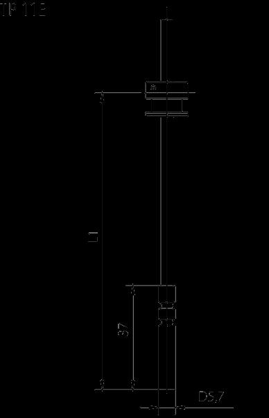 Sonde appairées typope TP 11E