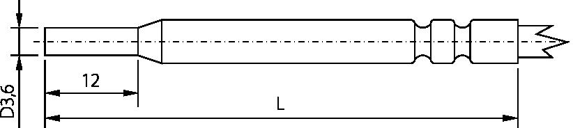 Schéma sonde TG 9