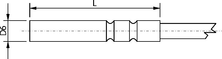 Sonde basse température diamètre 6mm, -100 à 150°C