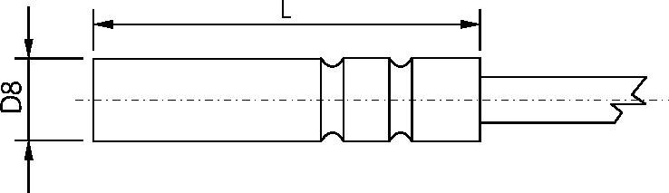 Schéma sonde TR 081
