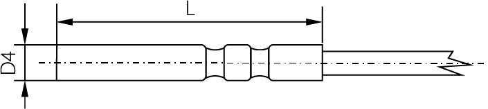 Sonde basse température diamètre 4mm, -100 à 150°C