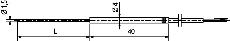 Schéma sonde TR 091.5
