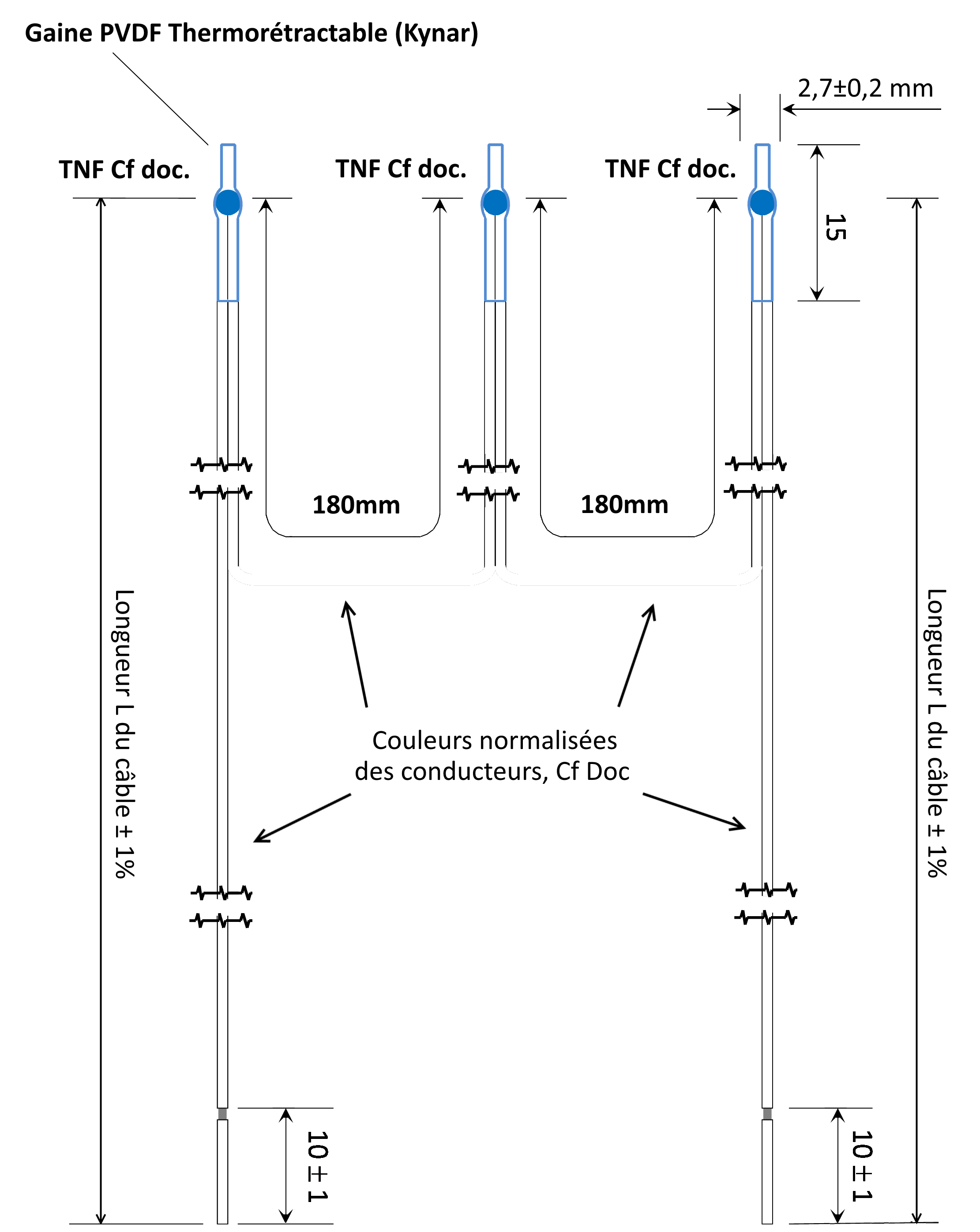 KD335 Triple CTP Probe