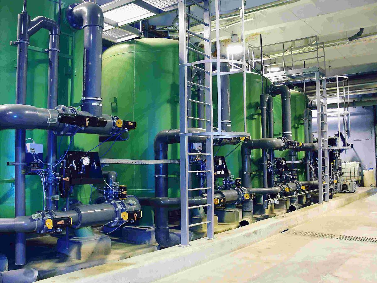 Traitement d'eau et eaux usées