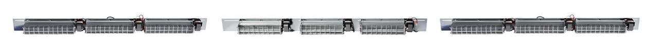 Barre de ventilation pour transformateur