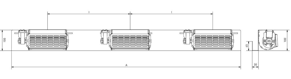 Ventilation des transformateurs sec et bain d'huile
