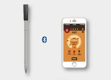 Sonde de température bluetooth et smartphone