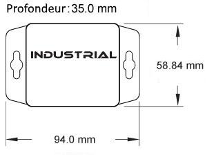 Sonde sans fil industrie ALTA MNS2-8-IN-TS-ST
