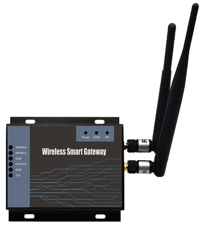Photo récepteur température humidité GPRS RS485