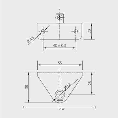 Schéma support K110