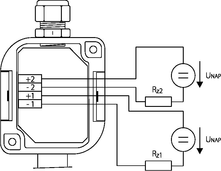 Schéma de branchement